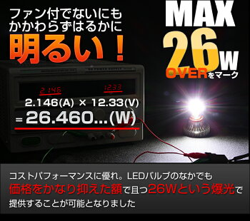 H8H11H16フォグLEDバルブ5800K4600K6700Kから選べる超高輝度LEDフォグランプLEDフォグH8H11H16形状H8H11H16対応フォグランプ明るさMAX26WのLEDフォグランプデュアルカットフォグランプ