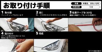 TOYOTA20系アルファード専用アイライン未塗装_取り付け手順