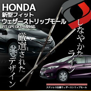 HONDAホンダFit専用サイドメッキガーニッシュ-メイン