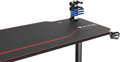 [送料無料]【公式】VSHARKERプロ品質ゲーミングデスク幅140cm奥行65cm高さ75cm(幅140cm)