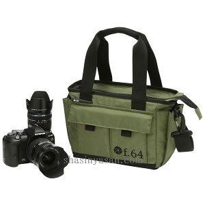 ETSUMI f64 f/64 DECSGN 手提げ カメラバッグエツミ f.64 DECS-GN グリーン Casual Light
