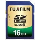 ★15時迄の代引注文は即日発送★フジフイルム SDHC-016G-C6 SDHCメモリーカード 16GB [FUJIFILM...