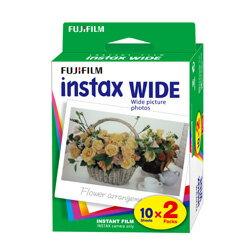 【送料無料】 フジフイルム チェキワイド用インスタントカラーフィルム instax WIDE K R2 2パック(10枚入×2) [チェキWIDE instax WIDE 300対応]