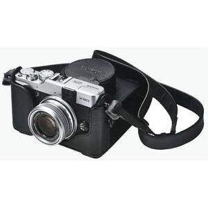 Fujifilm フジフィルム LCX20 高級本革製 ボディケース ボディジャケット 本体ケース《2013年2...