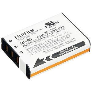 フジフイルム NP-95 充電式リチウムイオンバッテリー [純正バッテリーパック/ FUJIF…