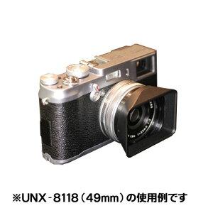 UN UNX8118 角型レンズフードユーエヌ UNX-8118 スクエアーフード 専用キャップ付 49mm