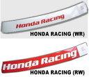 フロントウィンドー用ステッカー HONDA RACING
