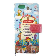 メール便OK!ECOUTE!【エクート】iPhone6用 手帳形カバー(お花のアーチ)★アイホン6のキズ...