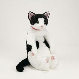 日本製の柔らかい毛並み!【送料無料】猫のはっちゃん★実在の人気ネコはっちゃんをモデルにし...