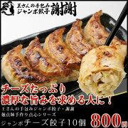 手包みジャンボチーズ餃子10個【お得な中華】【ぎょうざ・ギョーザ・王さん】