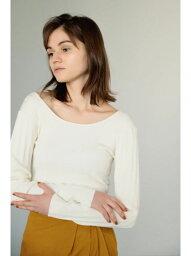 【SALE/37%OFF】washable knit random rib tops BLACK BY MOUSSY ブラックバイマウジー ニット ニットその他 ホワイト ブルー【RBA_E】【送料無料】[Rakuten Fashion]