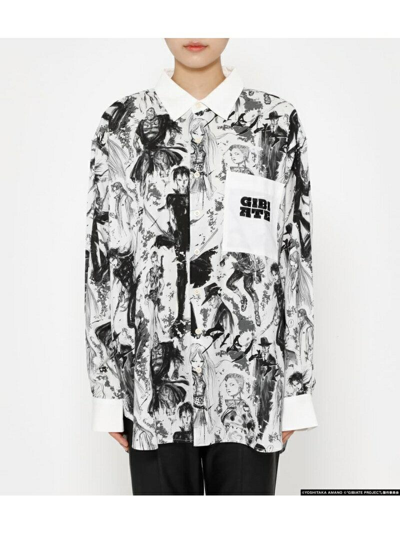 [GIBIATE]ALLSTARS PATTERN Shirt R4G アールフォージー シャツ/ブラウス シャツ/ブラウスその他【送料無料】[Rakuten Fashion]画像