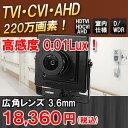 小型防犯カメラ ITC-JK400-F | TVI CVI ...
