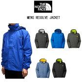 THE NORTH FACE MEN'S RESOLVE JACKETザ ノースフェイス メンズリゾルブジャケットシェルジャケット、撥水アウトドアジャケットマウンテンパーカー、レインジャケットトレッキング,ハイキング