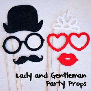 紳士と王女パーティプロップスパーティオーナメントインテリアキッズ子ども部屋パーティーグッズ雑貨ピクニック