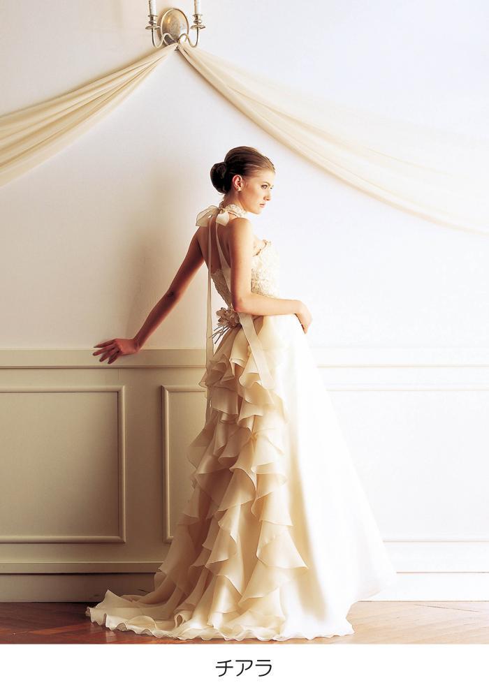 ウェディングドレス 白 ドレス  チアラ 花嫁 ホワイト 結婚式【レンタル】