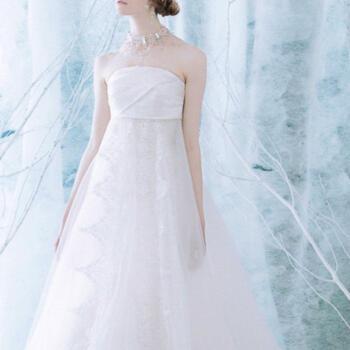 ウェディングドレス 9号「エンパイア&マーメイド2WAYドレス」em004【レンタル】【感謝祭】【ポイント3倍】