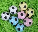 サッカー好きのお二人にぴったり!サッカーボールデザインの圧縮タオル!サッカーボール圧縮タ...