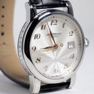 """モンブランスタートラディショナルオートマティック""""カルぺ・ディエムエディション""""113849【2年間★メーカー国際保証付】メンズ高級腕時計正規並行輸入品"""
