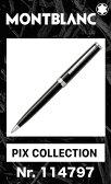 2016年 新作 モンブラン PIX ボールペン ブラック 黒 114797【2年間★メーカー国際保証付】名入れ 正規ギフト包装可 MONTBLANC PIX Collection Black ballpoint pen ツイストメカニズム (クルーズコレクション Cruise 111843)正規並行輸入品 高級文具