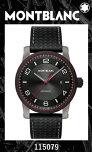 新品モンブランMONTBLANC腕時計タイムウォーカーアーバンスピードデイトオートマティック115079【2年間★メーカー国際保証付】自動巻きメンズ42mmスイスメイド高級正規並行輸入品TIMEWALKERブラックカーフベルト