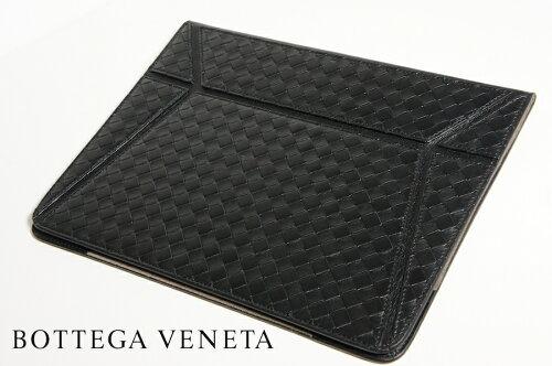在庫処分価格!!正規・新品 BOTTEGA VENETA ボッテガヴェネタ 黒 iPadケース iPadカバー 296913 V...