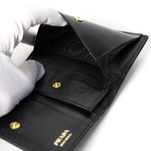 dca0dce09185 楽天市場】PRADA プラダ リボン付き 二つ折り ミニ財布 小銭入れ付き ...
