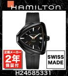 【2年間正規保証付き】ハミルトンHAMILTON【H24585331】ベンチュラエルヴィス80オートAUTOVENTURAELVIS80AUTO自動巻きメンズ腕時計ビジネス時計正規並行輸入品ブラックPVD黒スイスメイドエルビス
