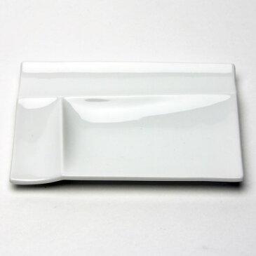 miyama/深山/isora(イゾラ) パレットプレートS 白磁/美濃焼/日本製