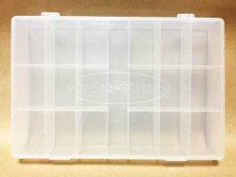 【韓国製】刺繍糸収納プラスチックケース19マス収納整理糸クロスステッチ刺しゅう