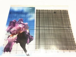 【DM便対応】Pakoクロスステッチ6種類の透明のグリッドArtikelnr.707.090
