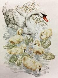 【DM便対応】PakoクロスステッチSWANS白鳥キットAida刺しゅうオランダArtikelnr.235.321