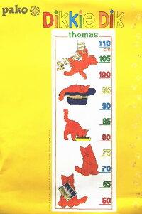 【DM便対応】PakoクロスステッチDikkieDikキットディッキー・ディック刺しゅうオランダArtikelnr.272.030