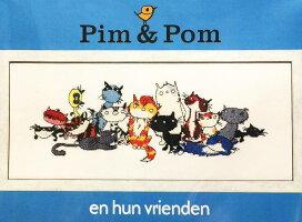 【DM便対応】PakoクロスステッチPim&Pomキット刺しゅうオランダArtikelnr.270.119