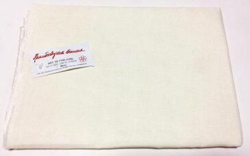 クロスステッチ刺しゅう布 フレメ 12B 150x100cm リネン Haandarbejdets Fremme ホワイトクリーム 北欧 カット布 刺繍 50-1100