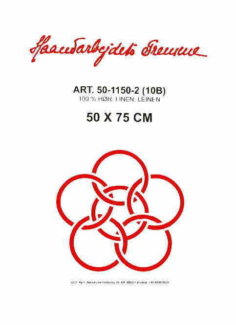 フレメ クロスステッチ刺繍布 10B 50x75cm リネン  Haandarbejdets Fremme クリームホワイト 麻 布 カット布 輸入 50-1150-2