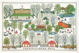 フレメ クロスステッチ刺繍キット フレデリックスベル公園 輸入 デンマーク 北欧 上級者 30-3083
