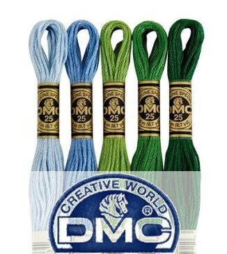 【DM便対応】DMC (山吹/黄系) 728番〜725番 25番 刺繍糸 クロスステッチ エンブロイダリー 糸 刺繍 刺繍糸 dmc
