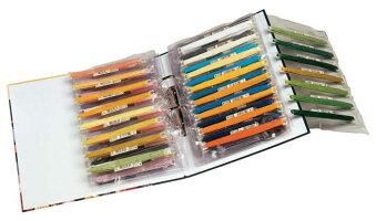 【DM便対応】DMCクリアファイル5枚ステッチボウを収納できます☆バインダー用刺繍クロスステッチ刺しゅう用具収納用品フランスU1242-5