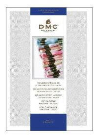 【DM便対応】DMCNEW見本帳刺しゅう糸刺繍クロスステッチ刺しゅう用具用品色見本フランスW100B