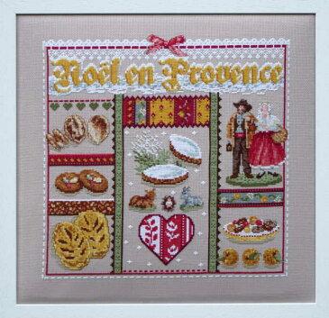 【送料無料】Madame La Fee プロヴァンスのクリスマス Noel en Provence マダムラフェ クロスステッチ キット