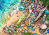 HAEDクロスステッチ刺繍チャート図案HeavenandEarthDesigns【BeachCombersBounty】AimeeStewart