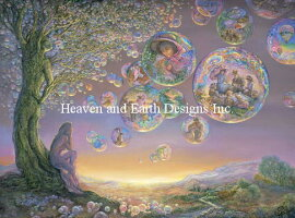 HeavenAndEarthDesigns(HAED)クロスステッチ刺繍図案SupersizedTheBubbleTreeチャートMicheleSayetta/JosephineWallスーパーサイズ全面刺し上級者