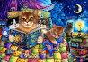 HeavenAndEarthDesigns(HAED)クロスステッチ刺繍図案輸入猫の読書CatsReading全面刺し上級者