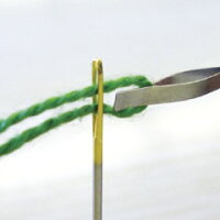 【DM便対応】Cloverクロバーエンブロイダリースレダークロスステッチの太い糸でも糸通りなめらか☆手芸刺しゅう57-568