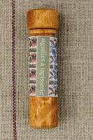 Sajouニードルケース(縫い針6本入り)Porteaiguillesenboisdecharmeetsesaiguillesàtapisserie針保管収納ケースフランスメゾンサジューBOIS_TUBE_AIG_TAPI