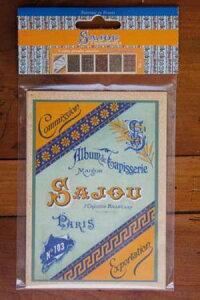 【DM便対応】Sajouポストカード(6枚組)SixcartespostalesSajoutapisserieaupetitpointSérie103葉書サジューフランスメゾンサジューグリーティングカードCP_006_TAP_04