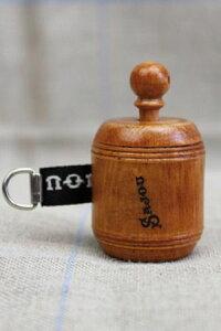 Sajou手巻き式木製メジャーMètredecouturièreenboisdecharmerubannoirサジューフランスノワールBOIS_MET_R_NOIR
