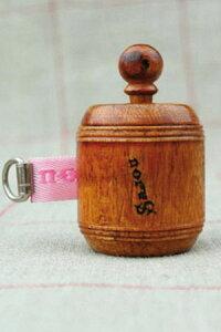 Sajou手巻き式木製メジャーローズピンクSAJOUサジューフランスメゾンサジューBOIS_MET_R_ROSE