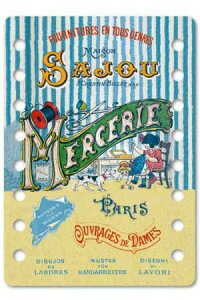 【DM便対応】Sajouオーガナイザー糸巻きサジューフランスメゾンサジューCAR_ORG_001_COGNAC